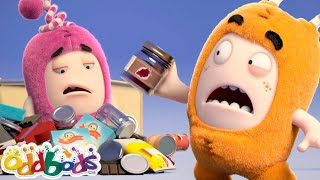 ODDBODS | Going Up & Tumbling Down | Cartoons For Kids