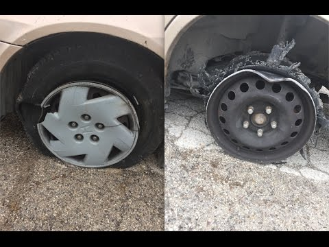 Thumbnail: What Happens if you Drive on a Flat Tire