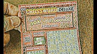 Killin' Time $20 Crossword Deluxe - CA Lottery Scratcher!