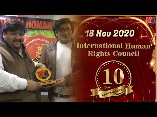 International Human Rights Councils 10th Anniversary Celebration #IHRC