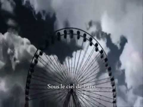 Yves Montand - Sous Le Ciel De Paris(with lyrics)