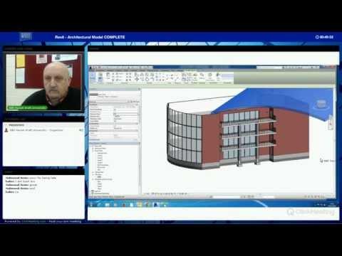 Revit Architecture Model Part 1