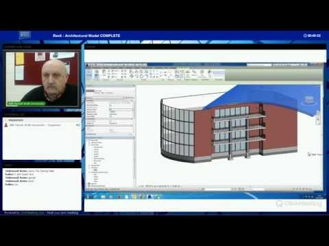 Revit Architecture Model Part 1