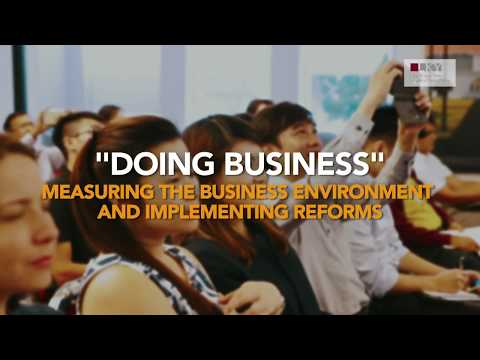 Doing Business - World Bank on Measuring the Business Environment