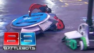 BattleBots Basement Tapes: PETUNIA vs. JASPER vs. BATTLESAW