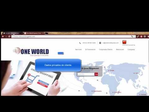 Como rastrear via One World Express
