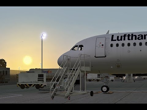 X Plane 11 - Flight Factor 320 with New BSS Sound Pack!