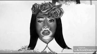 Drawing Winnie Harlow 💛