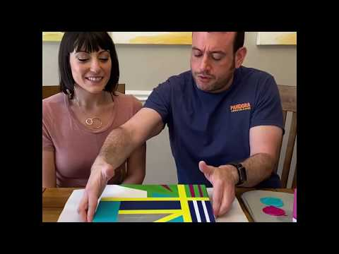 Hard Edge Painting! Get Creative With A Fun Art Project to Do at home