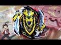 Cho-Z Achilles 00 Dm RARE Black Beyblade Burst Super Z Review