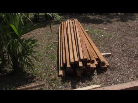 Building the Ayahuasca Ceremony Maloca - Wood