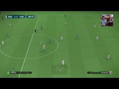 São Paulo vs Chapecoense  - Campeonato Brasileiro Virtual  - Wanted Games