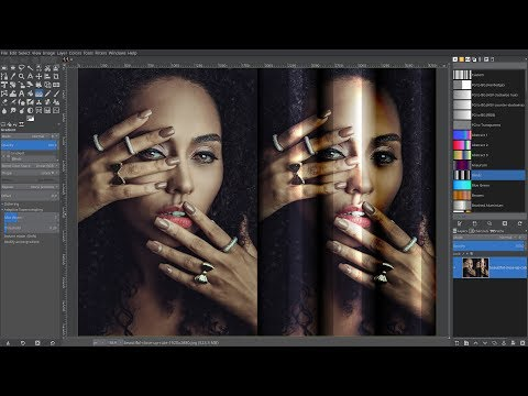 Gimp 2.10.8 - How to work with color gradients thumbnail