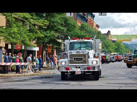 The 2018 Brockway Truck Show Parade