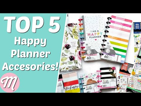 The Best Happy Planner Mini Accessories! - YouTube
