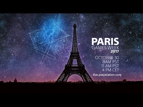 PlayStation® Live from Paris Games Week 2017 | English