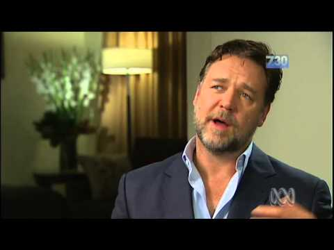 Russell Crowe praises Australia but condemns political 'lack of gallantry'