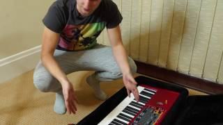 Nord Stage 2 BEGINNERS TUTORIAL (Basic Setup) PART 1