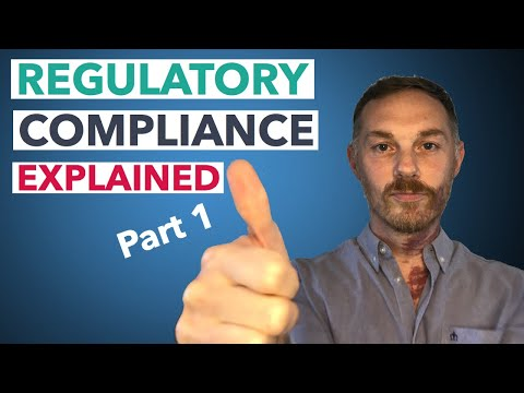 Learning About Regulatory Compliance in Banking PART 1