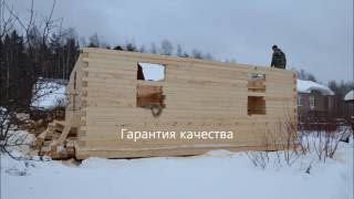 Дом из профилированного бруса(Дом построен компанией www.DomaSV.ru Профилированный брус, собственного производства, сборка дома осуществлялас..., 2016-07-08T12:28:19.000Z)