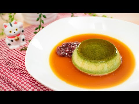 Matcha Caramel Pudding (No Bake) Recipe - Pai's Kitchen!
