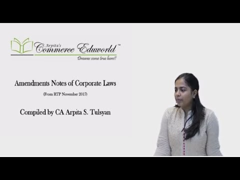 CA Final - Winding Up & Amalgamations as per Companies Act 2013 - by CA Arpita Tulsyan