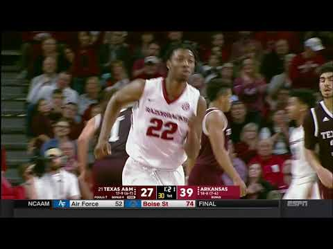 Arkansas vs. Texas A&M 2/17/2018