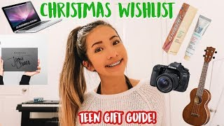 TEEN CHRISTMAS WISH-LIST 2018