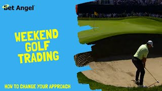 US Masters - Betfair Trading - Weekend golf markets