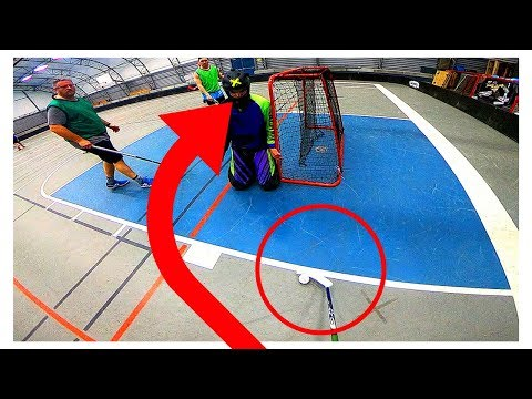 GoPro Floorball | FROM BEHIND THE NET