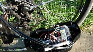 Homemade bicycle Anti-lock Brake System ABS