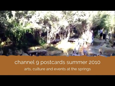 Channel 9 Postcards Television - Peninsula Hot Springs Summer 2010