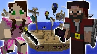 Minecraft: STEALING A PIRATE SHIP QUEST ...