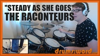 ★ Steady As She Goes (The Raconteurs) ★ Drum Lesson PREVIEW | How To Play Song (Patrick Keeler)
