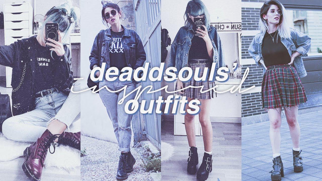 Lookbook de outfits inspirados en @deaddsouls   Loobook Grunge 6