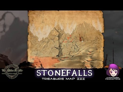 ☆ Elder Scrolls Online ☆ - Stonefalls Treasure Map III - YouTube