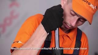 BMW X3 első és hátsó Rögzítőfék fékpofa beszerelése: videó útmutató