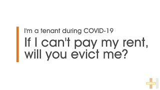 Expert Advice with Hodges Mentone | If I can't pay my rent, will you evict me?