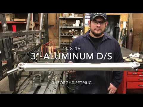 Aluminum Drive Shaft Build