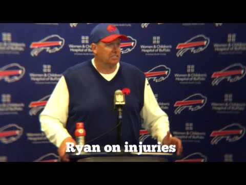 Buffalo Bills vs New England Patriots post game with Rex Ryan (10/30/16)