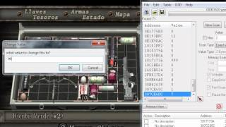 mezlca verde infinita re4 cheat engine