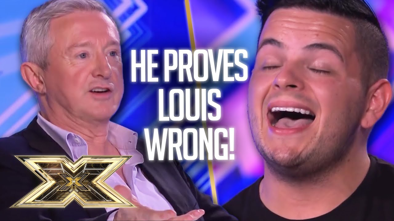Paul Akister returns to PROVE LOUIS WRONG in Unforgettable Audition | The X Factor UK