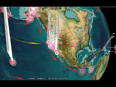 5/16/2018 -- Earthquakes develop across large region -- West coast keep watch - 동영상