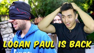 LOGAN PAUL IS POSTING AGAIN!! | SURPRISING MY BEST FRIEND WITH HIS FAVORITE ACTRESS! | REACTION