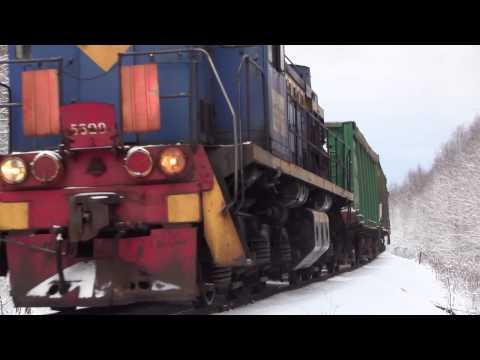 TEMs on oil shale railway in Northeastern Estonia