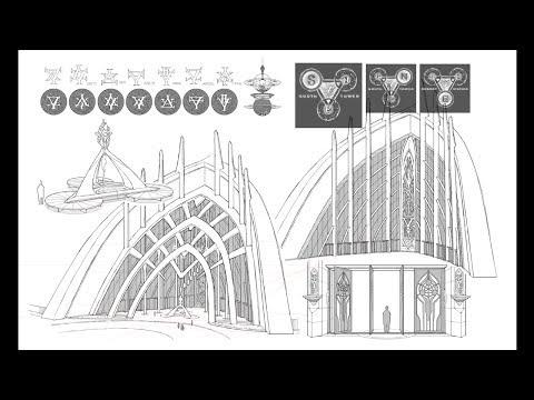 [XYang Design] Interstellar Cruise Port Gate Design