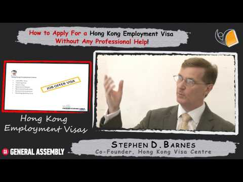 How to Apply for a Hong Kong Employment Visa - 2 - Your Job Offer