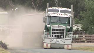 Australian Trucks: Road Trains and B Doubles at Deniliquin