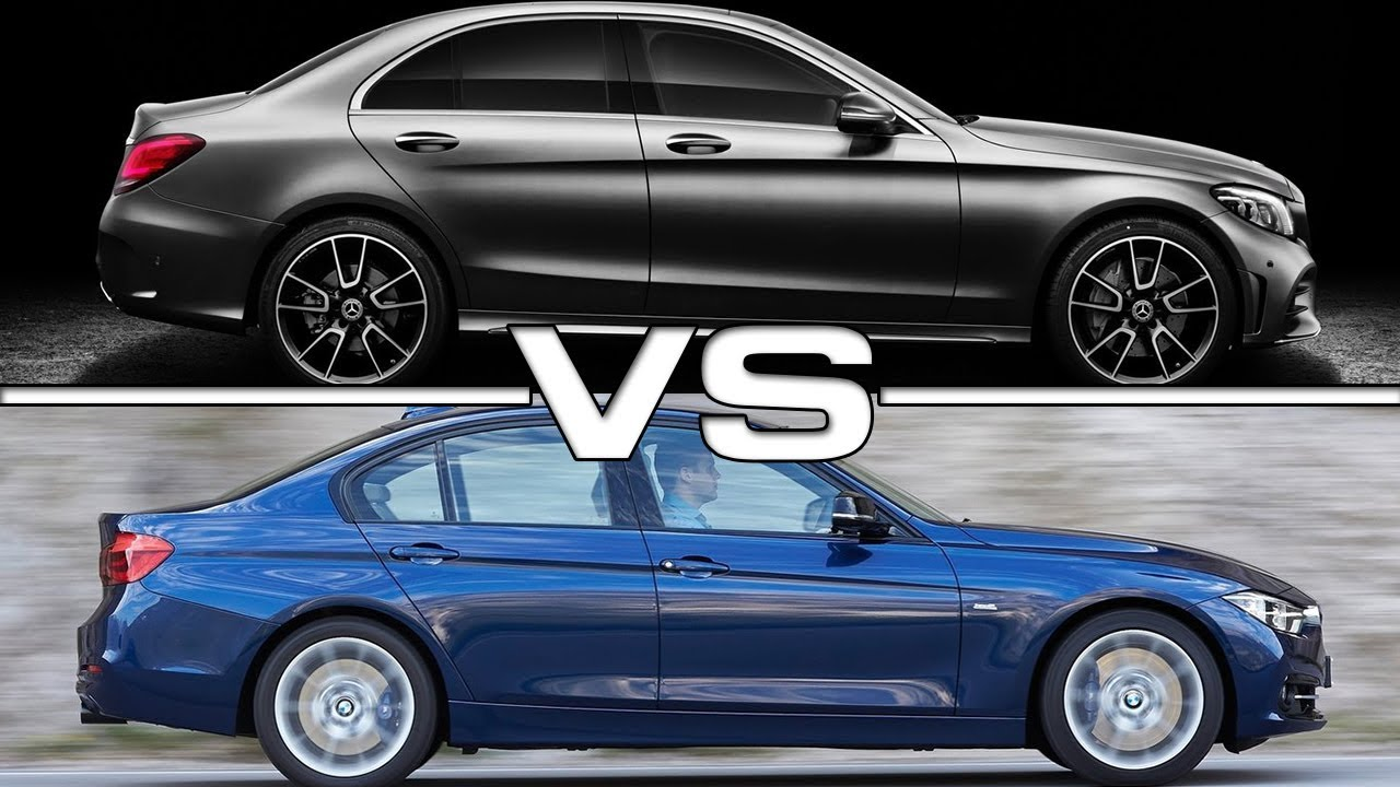 2019 mercedes c-class vs 2018 bmw 3 series techical specifications