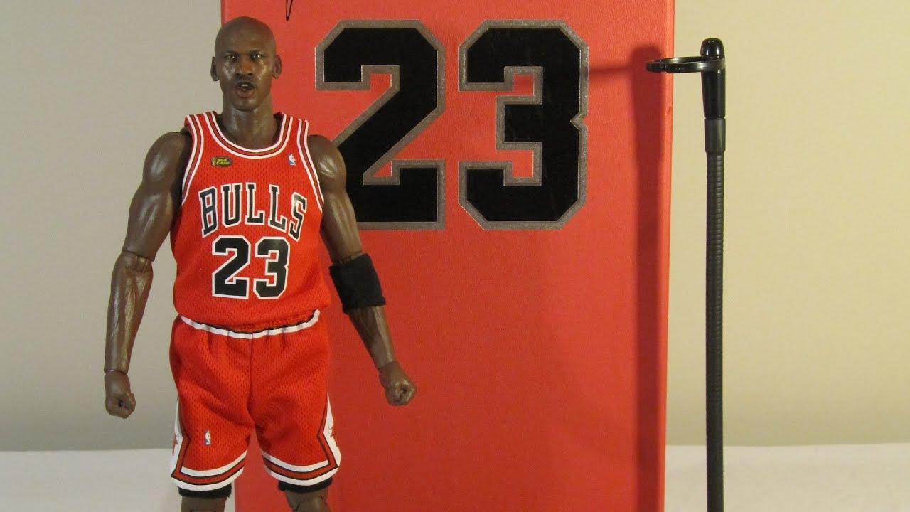 new style 242a9 adbf5 Enterbay NBA Michael Jordan Series 2 The Last Shot